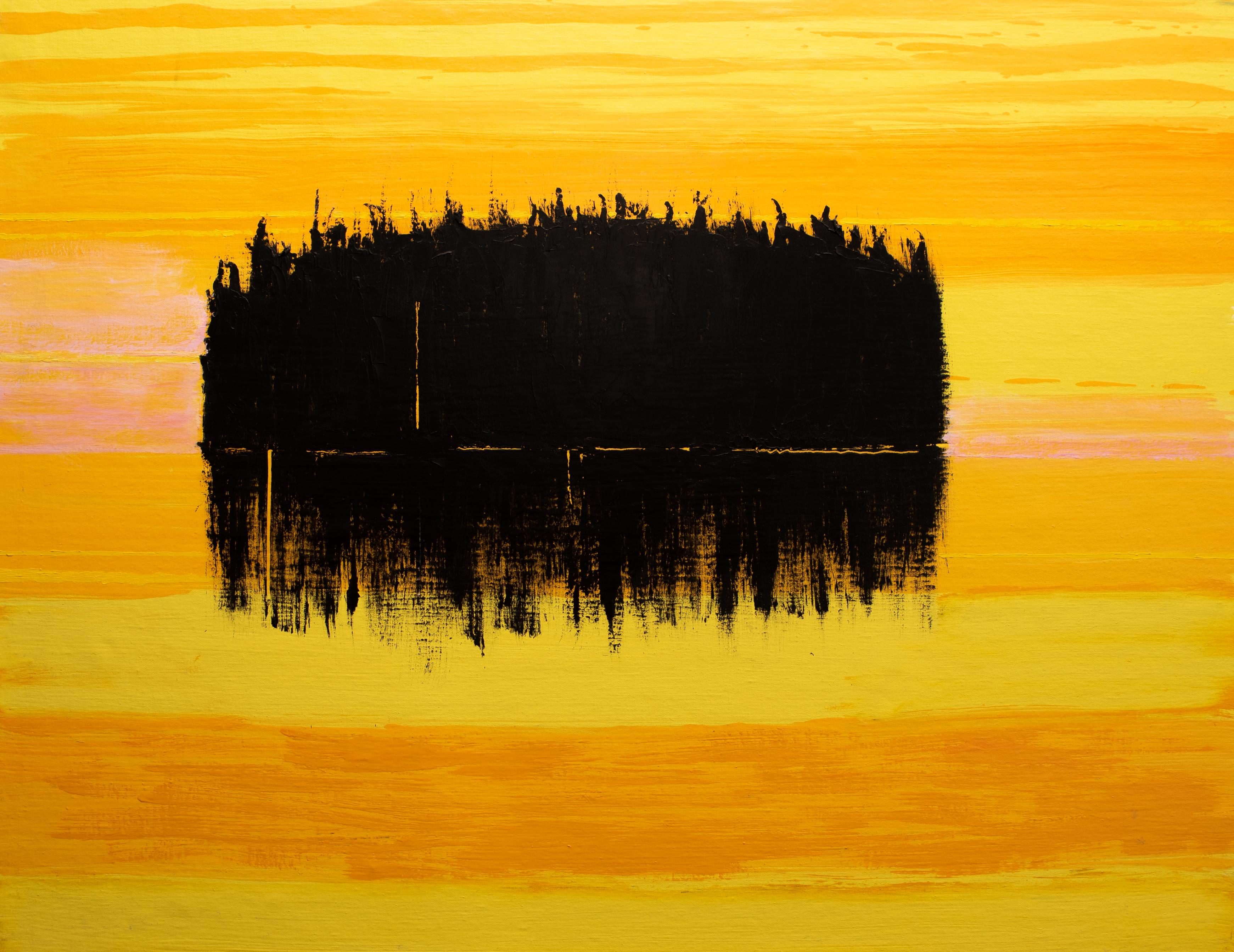Ön om morgonen - Klicka för att byta till perspektivbild.