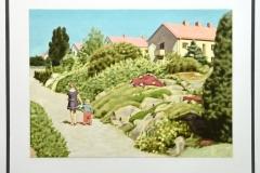 Claes-Åke Schlönzig - Folkskoleseminariets Trädgård (1940 tal)