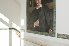 Reproduktion av Claes-Åke Schlönzig - Rickard Berg - August Strindberg