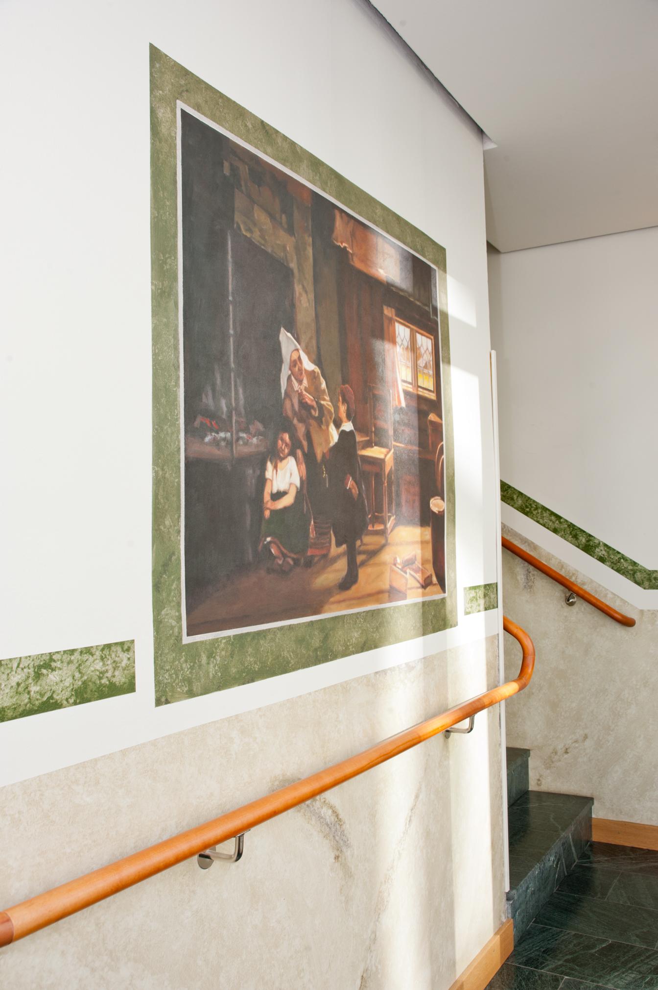 Reproduktion av Claes-Åke Schlönzig - Ernst Josephsson - Sagoberätterska - Klicka för att byta till närbild.