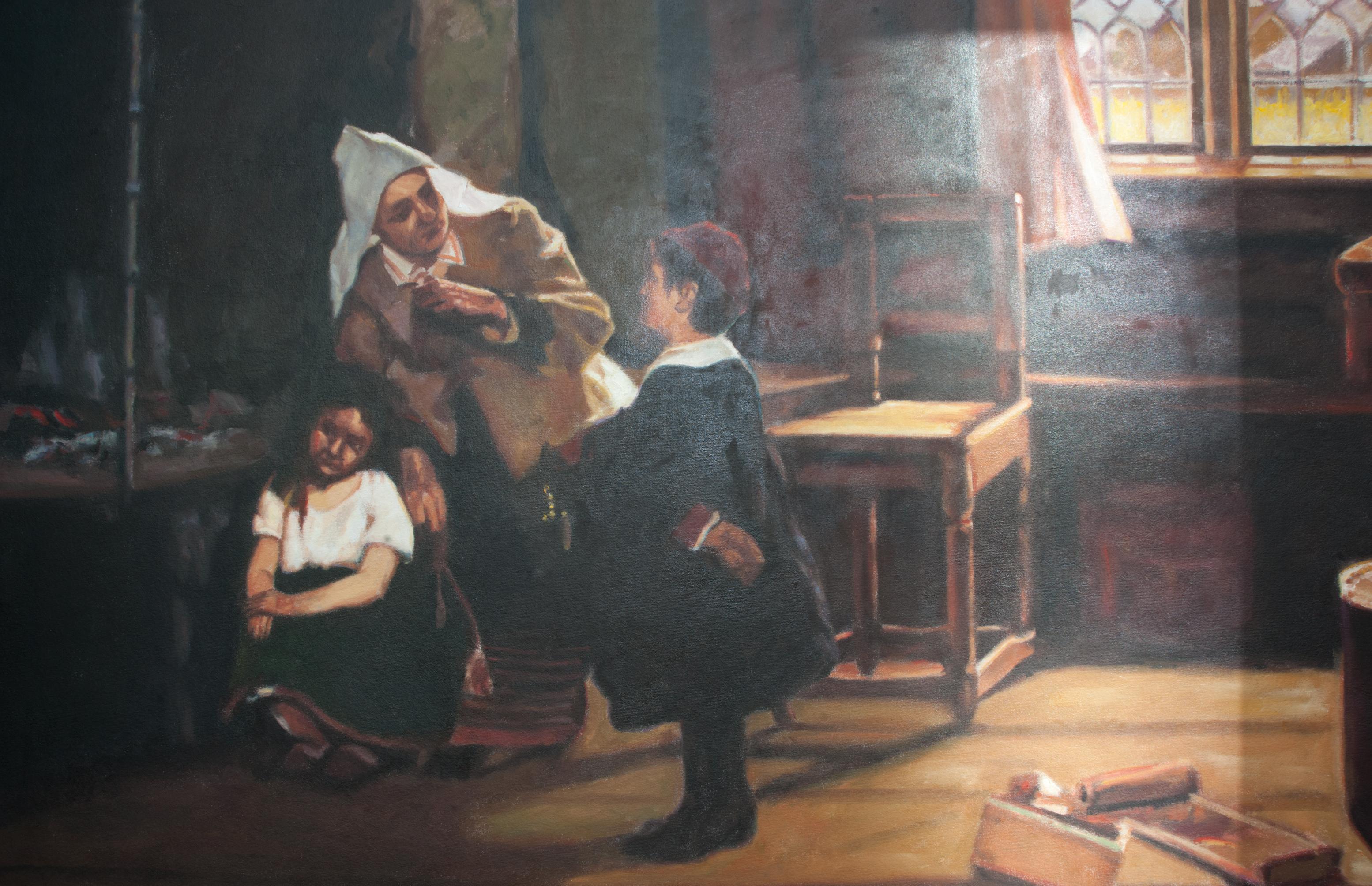 Reproduktion av Claes-Åke Schlönzig - Ernst Josephsson - Sagoberätterska - Klicka för att byta till perspektivbild.