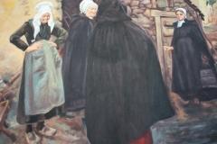 Reproduktion av Claes-Åke Schlönzig - Ernst Josephsson - Byskvaller