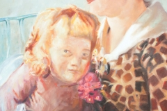 Reproduktion av Claes-Åke Schlönzig - Ernst Josephsson - Mor och barn