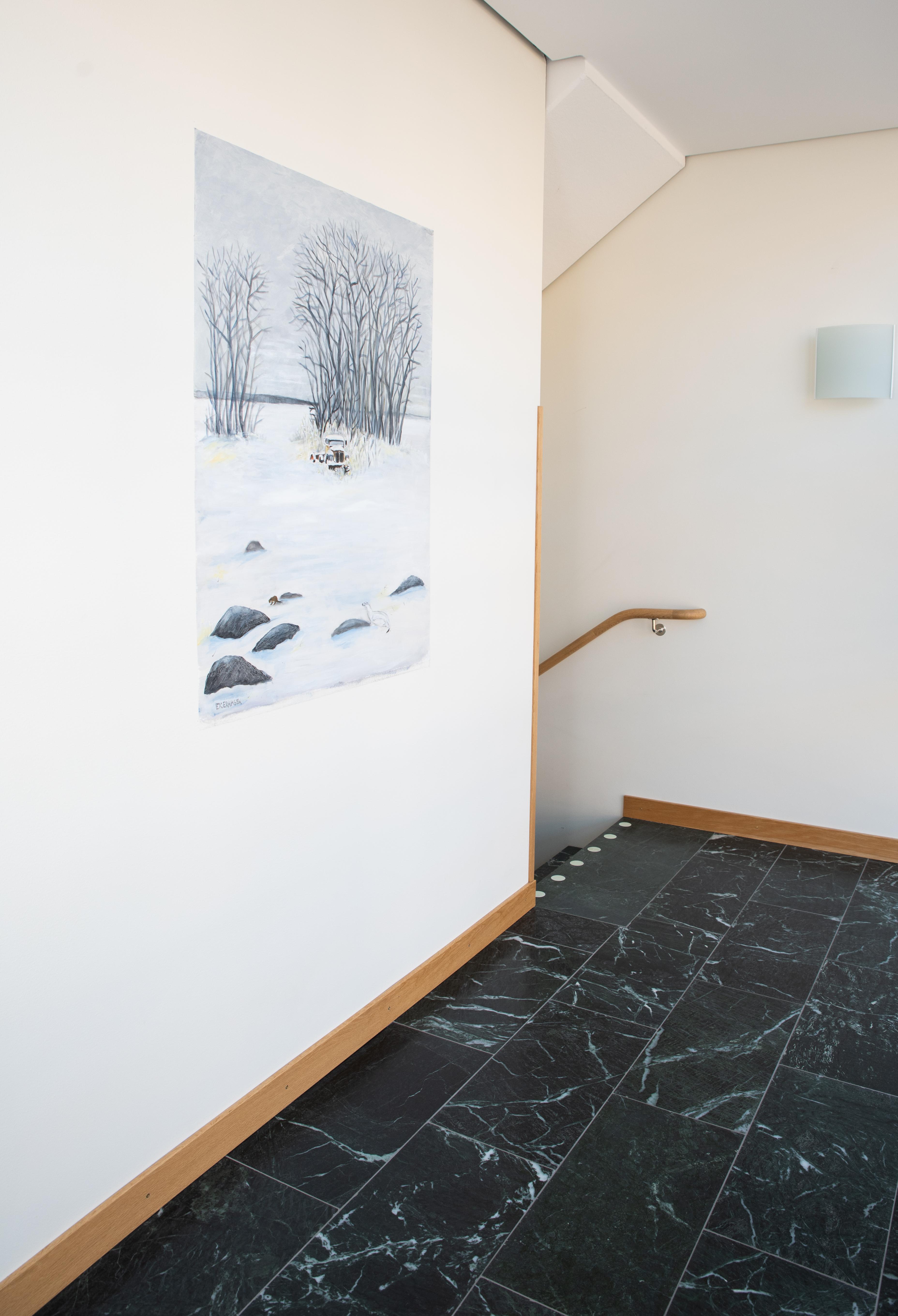Vinter Hermelin - Klicka för att byta till närbild.