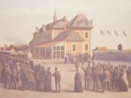 Invigningen av Östra Stambanan (1872)