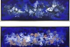 Jannic Novac - Diptyk (blå)