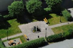 Magnus Engberg - Skulptur på innegården