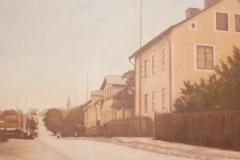 Kungsladugård, utsikt mot stan