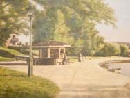 Kiosken Södra Stångåpromenaden (1950-tal)