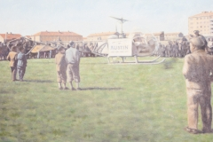 Flyguppvisning Kungsberget