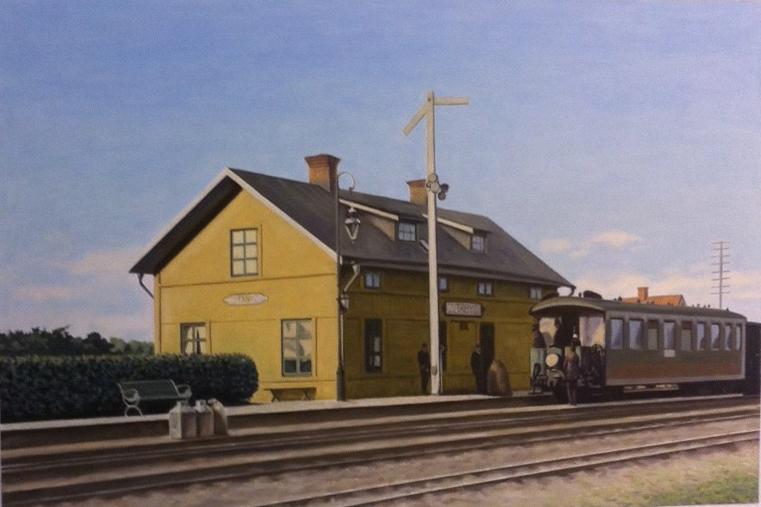 Täby Gamla Järnvägsstation