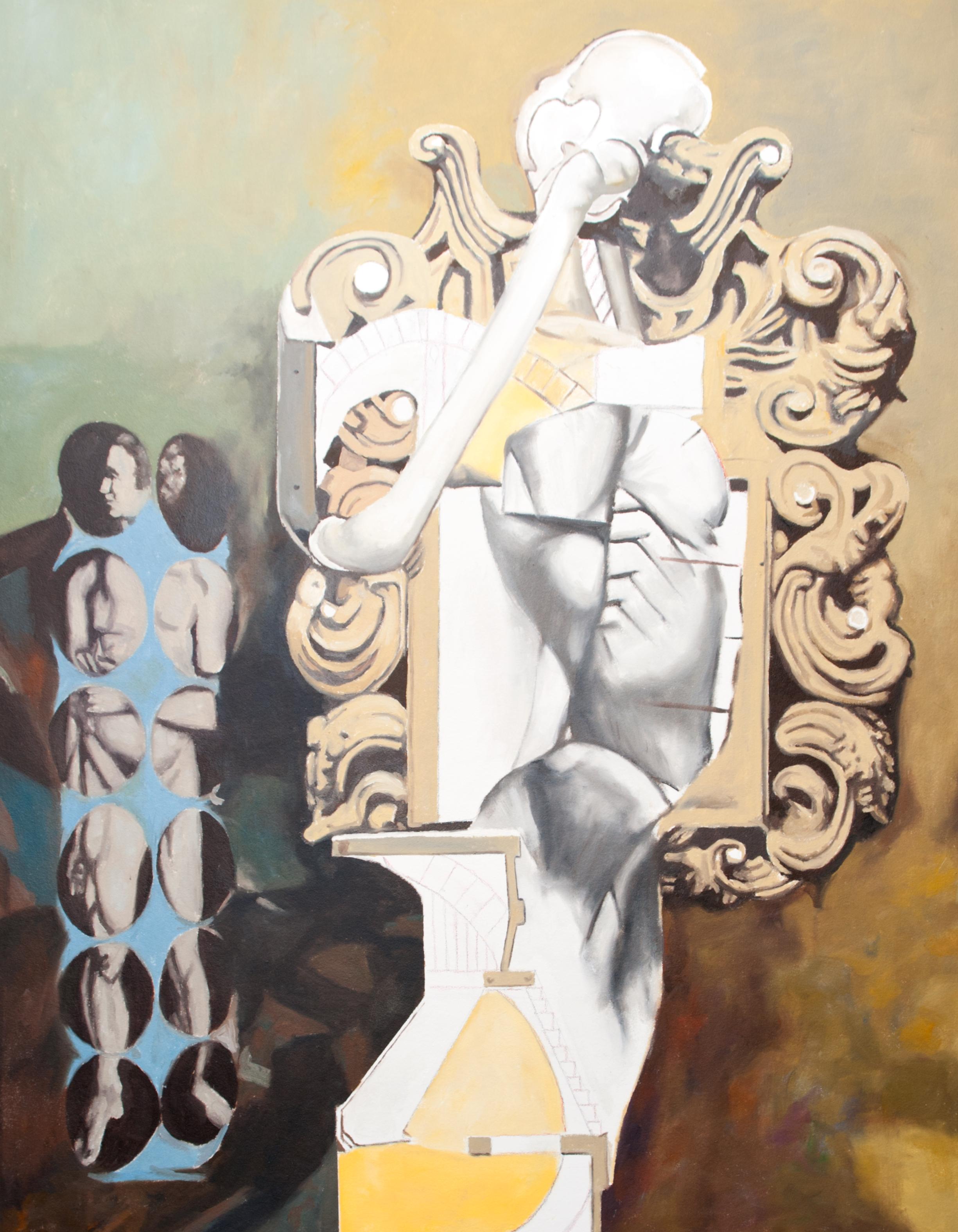 Reproduktion av Claes-Åke Schlönzig - Endre Nemes - Encounter with the baroque -1968