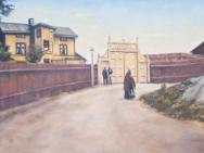 Claes-Åke Schlönzig - Ivarsbergs åldershem, Lundby sekelskiftet 1900