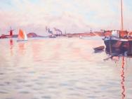 Reproduktion av Claes-Åke Schlönzig - Johan E Eriksson - Västkusten 1918