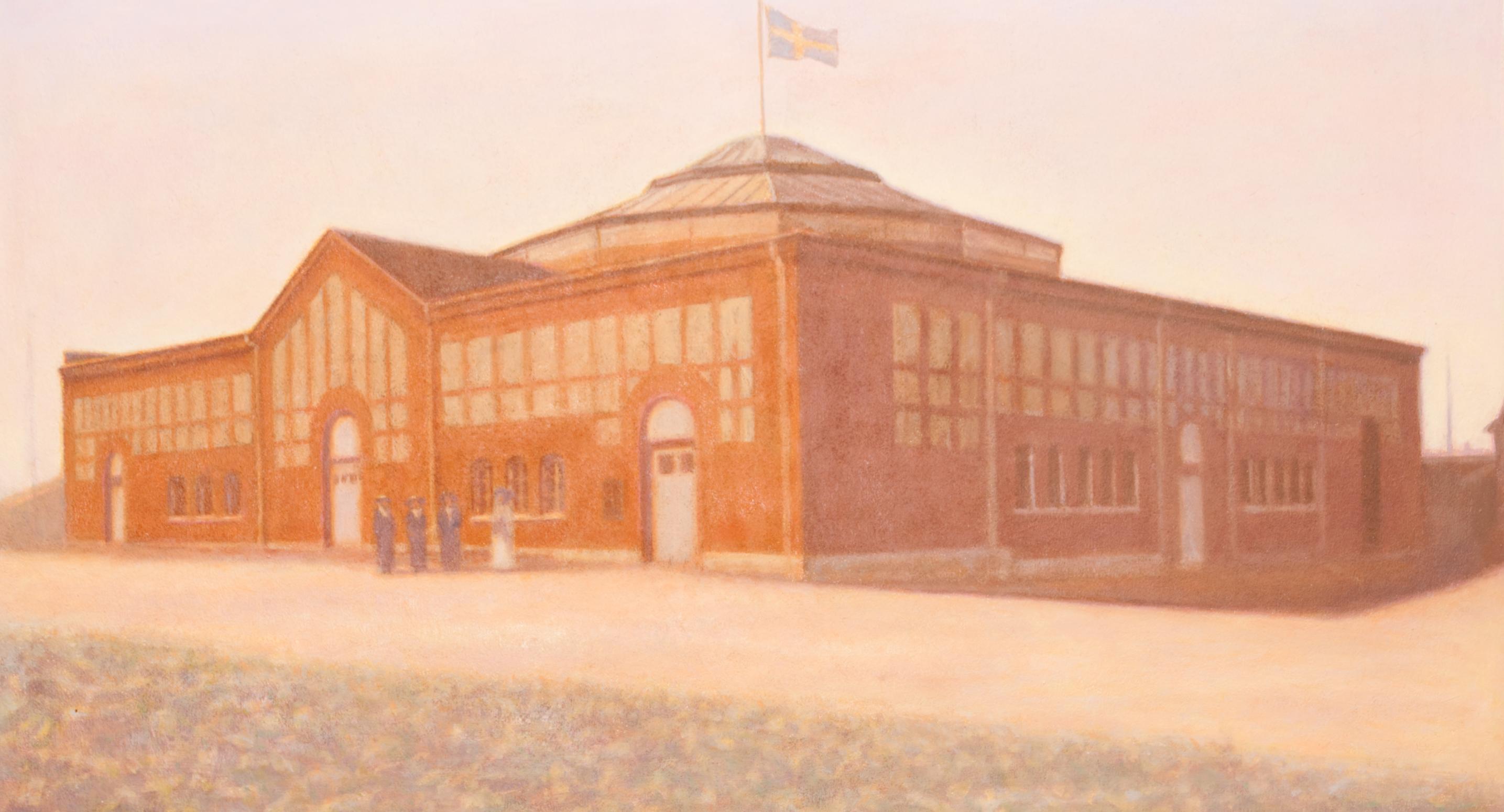 Claes-Åke Schlönzig - Cirkusbyggnaden (1910) - Klicka för att byta till perspektivbild.