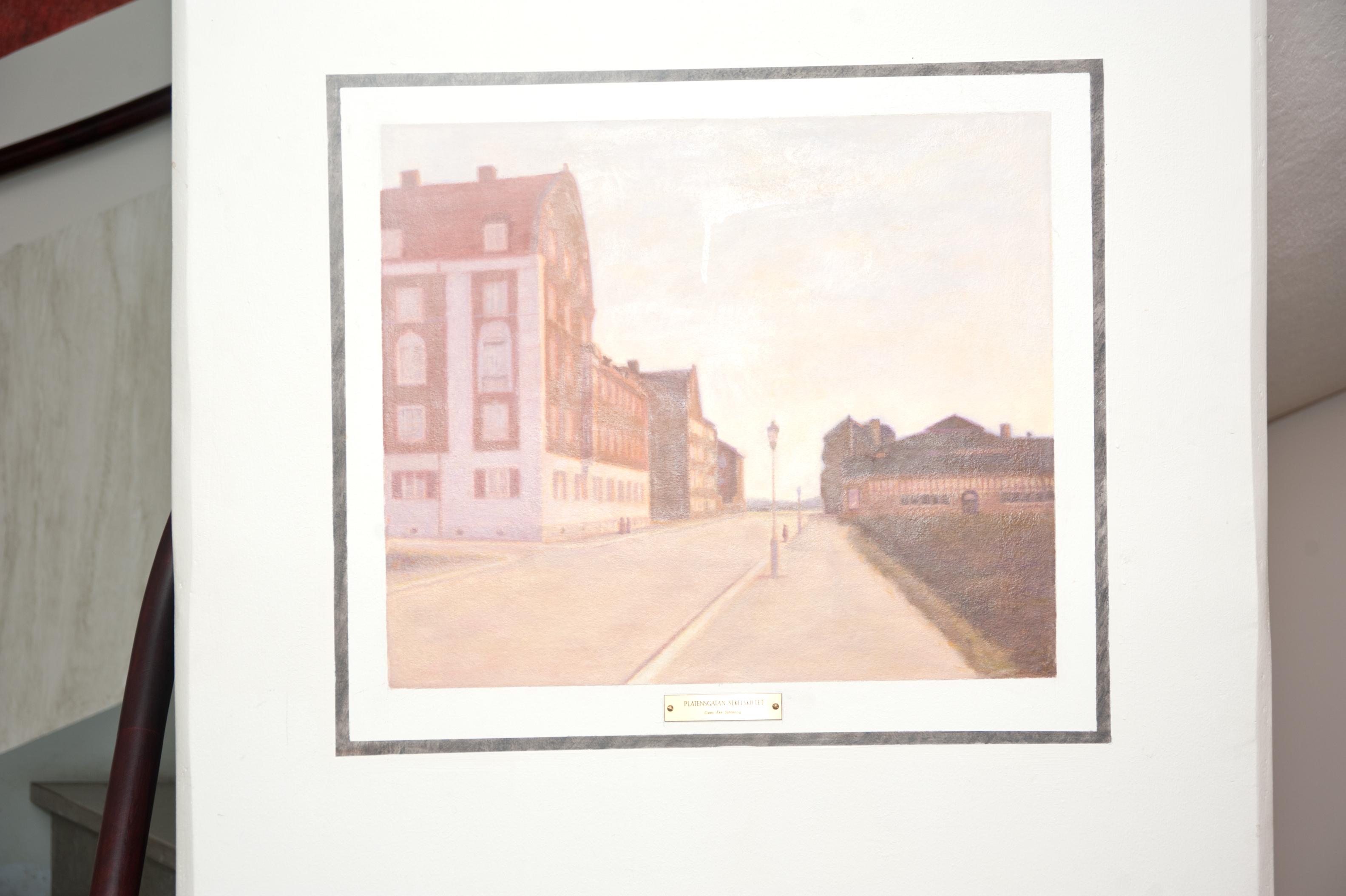 Claes-Åke Schlönzig - Platensgatan (sekelskiftet) - Klicka för att byta till närbild.