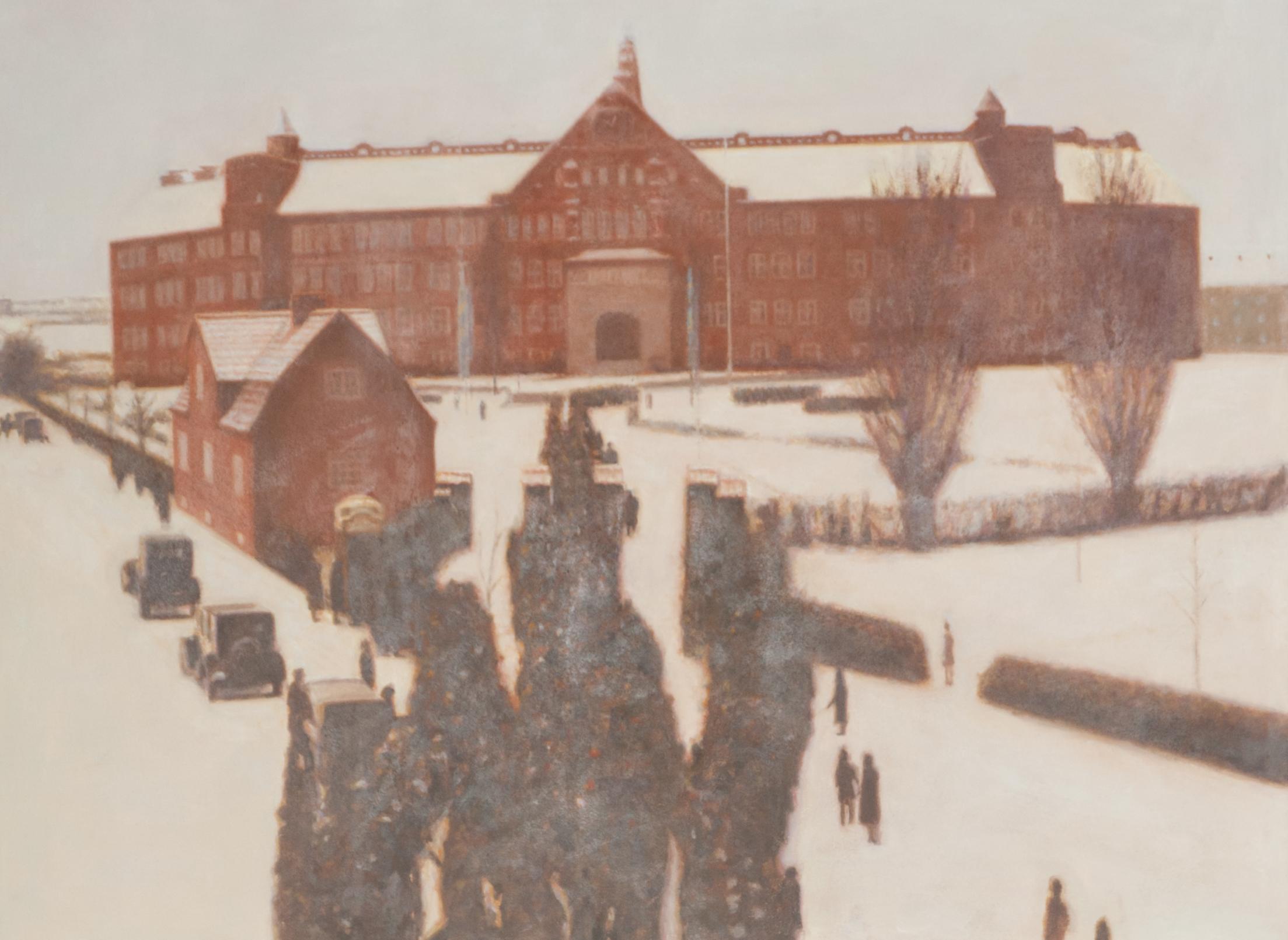Claes-Åke Schlönzig - Katedralskolans jubileum (1927) - Klicka för att byta till perspektivbild.