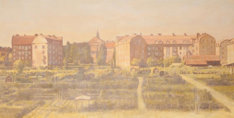 Claes-Åke Schlönzig - Vasastadens koloniträdgårdar (1910)