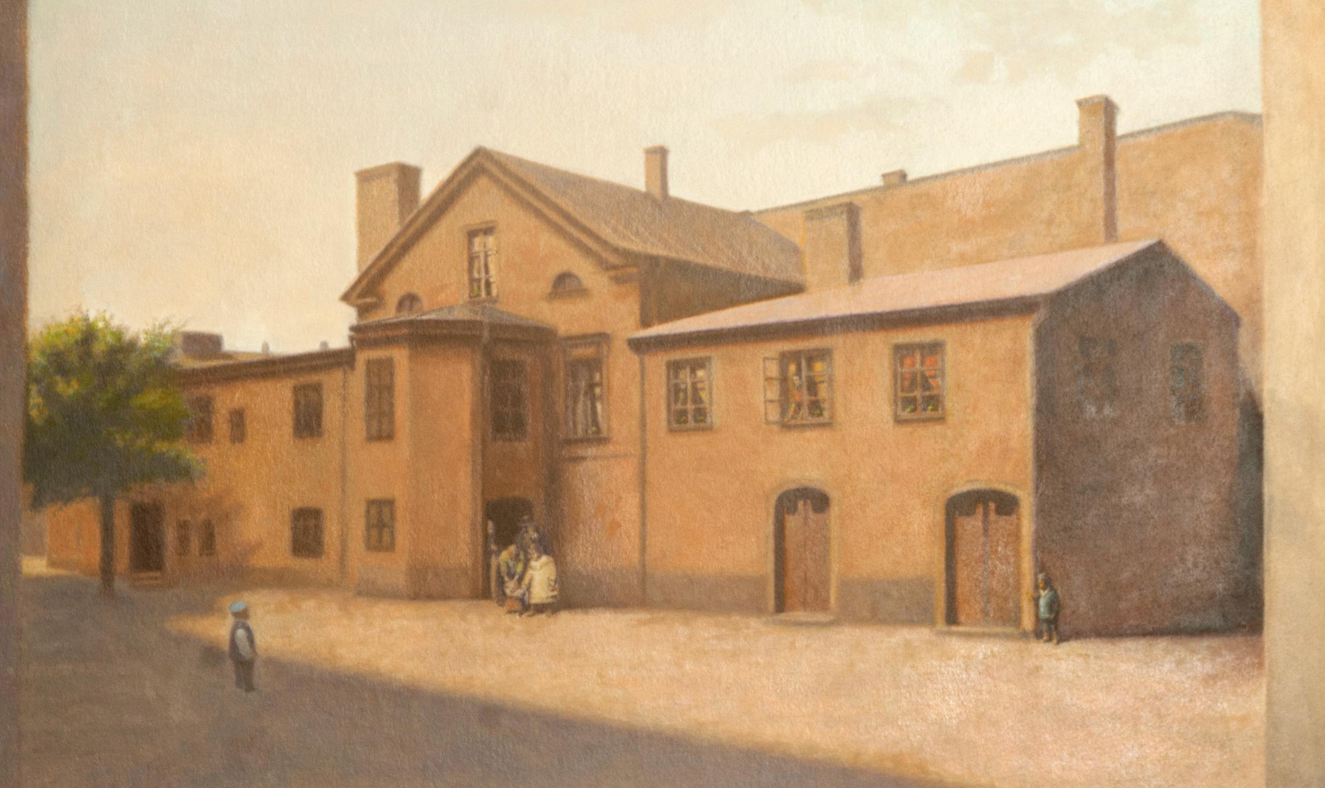 Gårdshuset Platensgatan (1920-tal) - Klicka för att byta till perspektivbild.