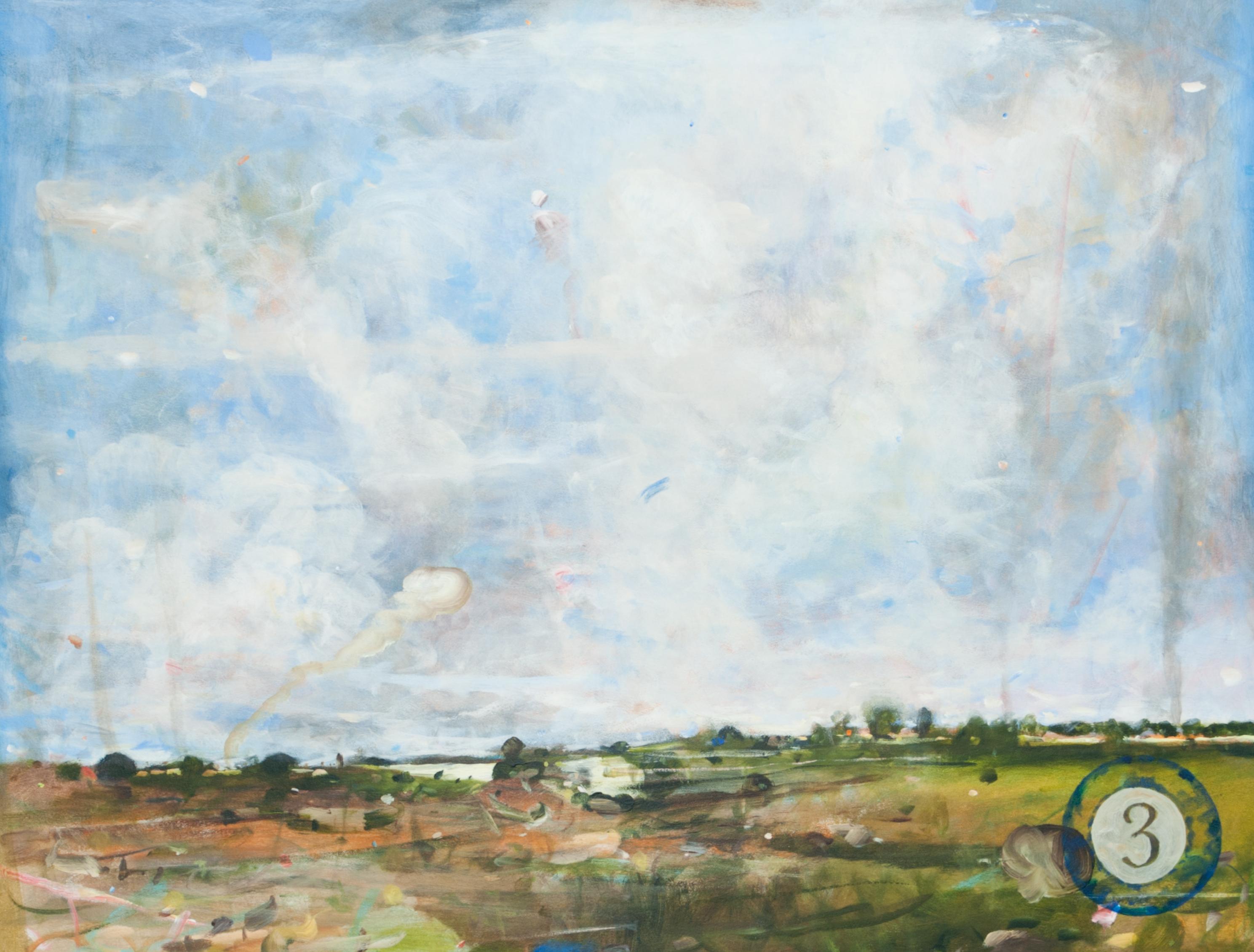 Thomas Edetun - Landskap 3 - Klicka för att byta till perspektivbild.
