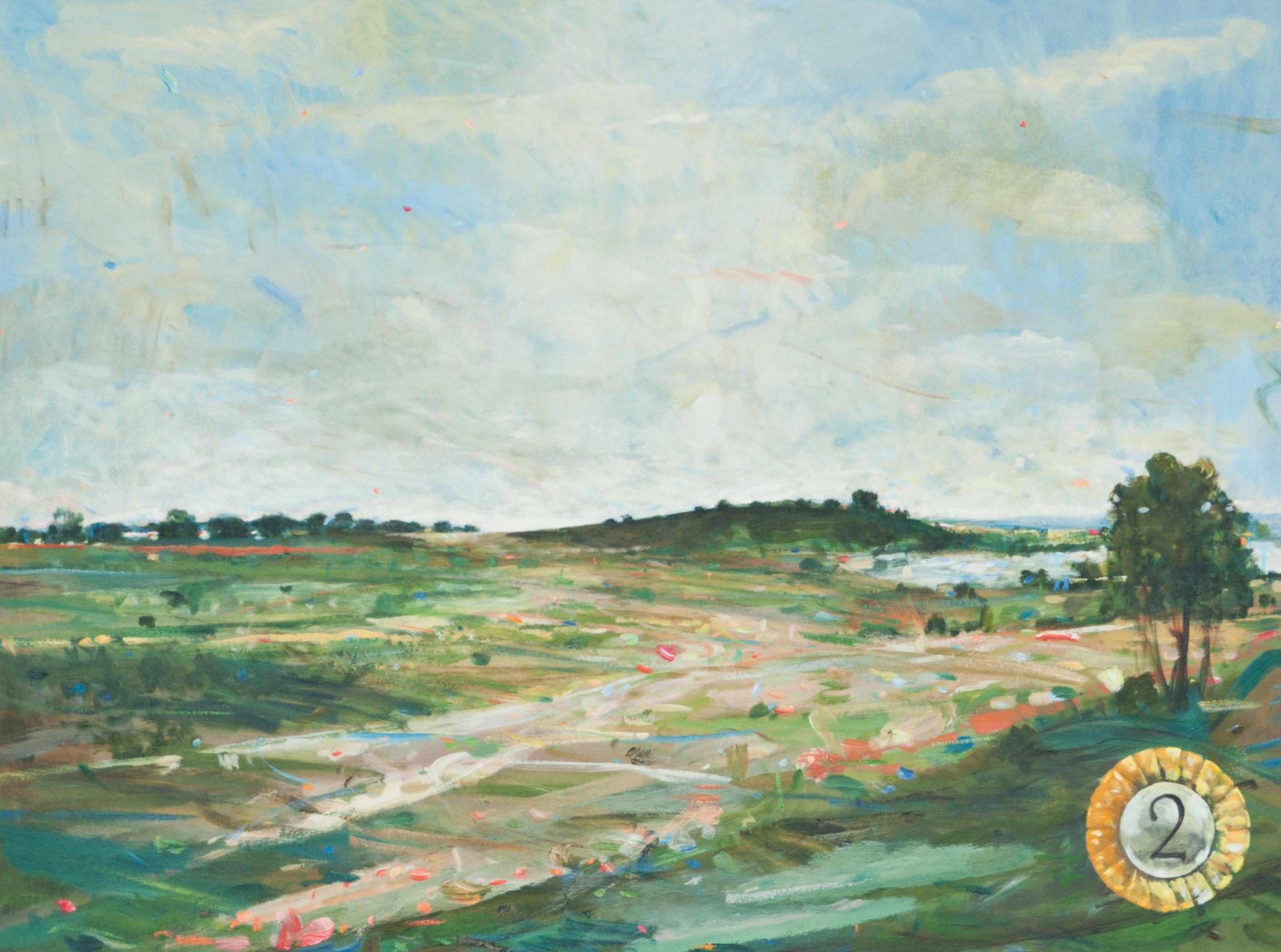 Thomas Edetun - Landskap 2 - Klicka för att byta till perspektivbild.