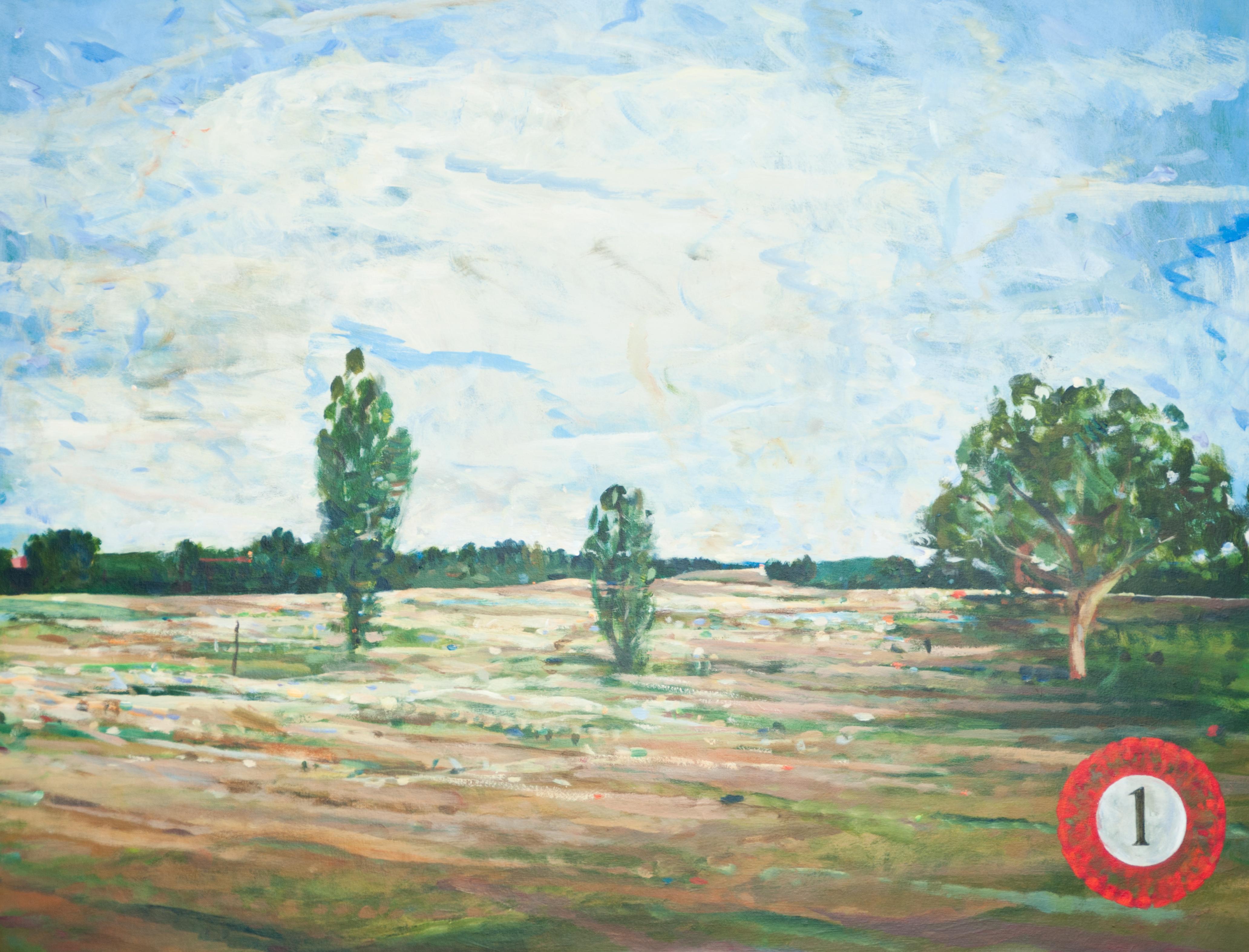 Thomas Edetun - Landskap 1 - Klicka för att byta till perspektivbild.