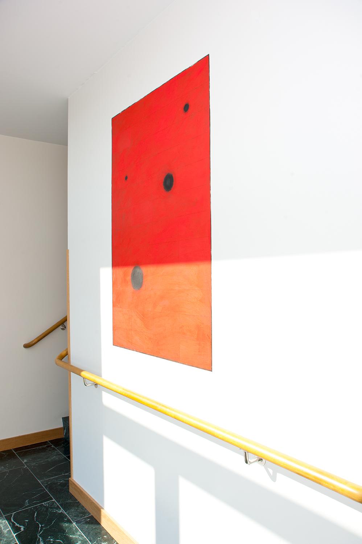 Karin Ögren - Black Holes-Red - Klicka för att byta till närbild.