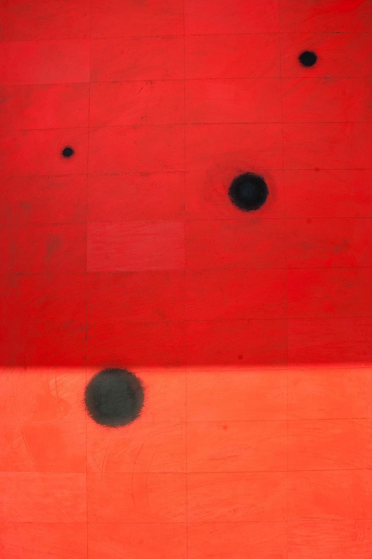 Karin Ögren - Black Holes-Red - Klicka för att byta till perspektivbild.