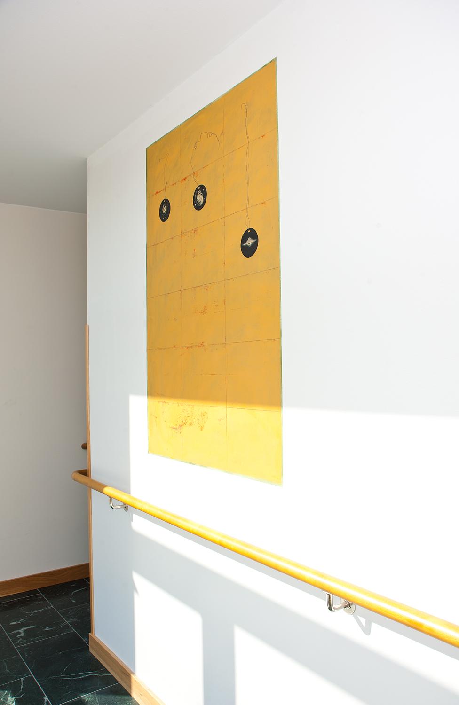 Karin Ögren - Galaxies-Yellow - Klicka för att byta till närbild.