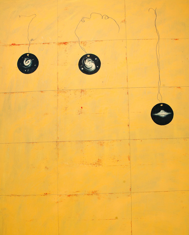 Karin Ögren - Galaxies-Yellow - Klicka för att byta till perspektivbild.
