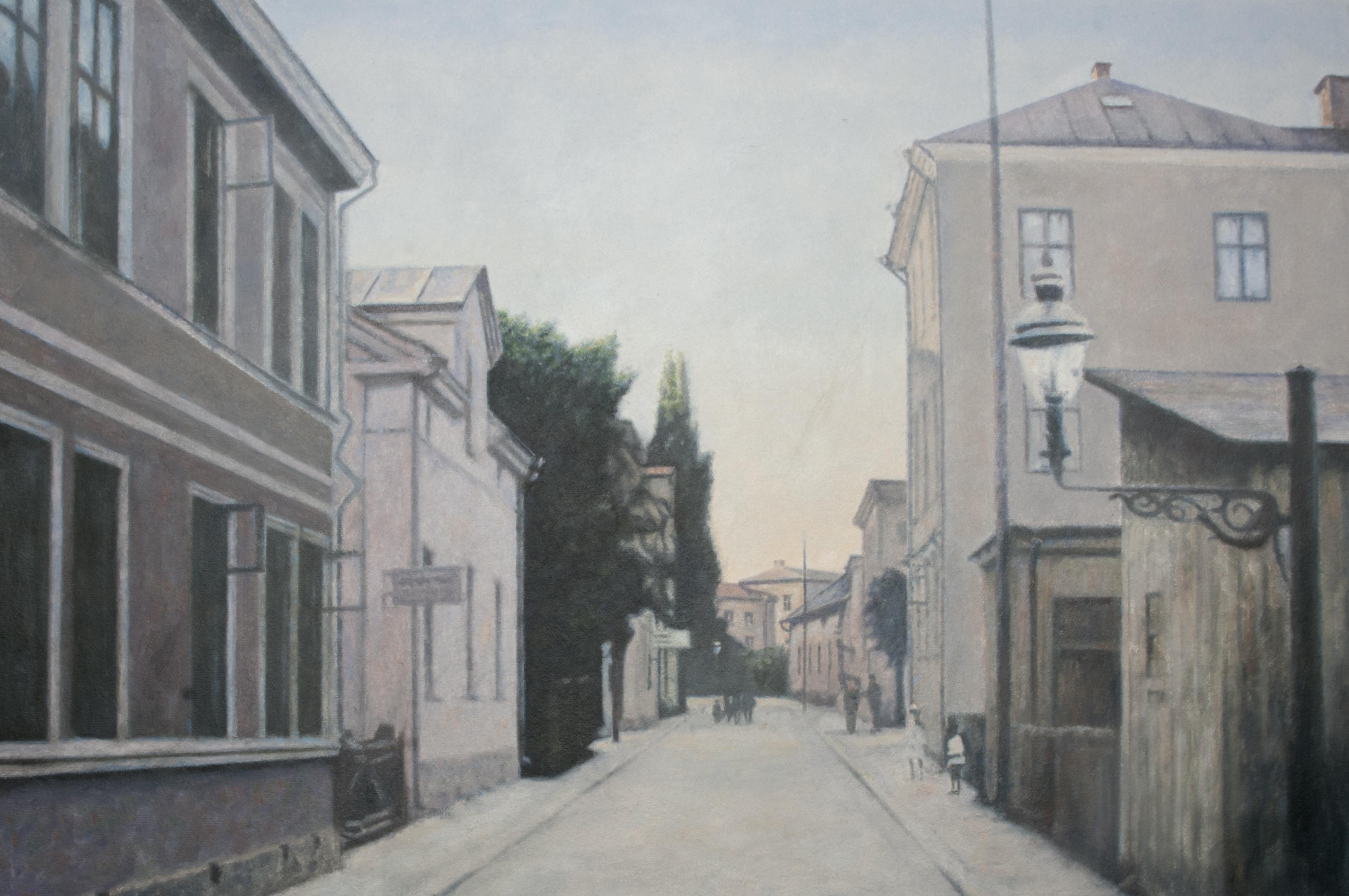 Skolgatan (1910-tal) - Klicka för att byta till perspektivbild.