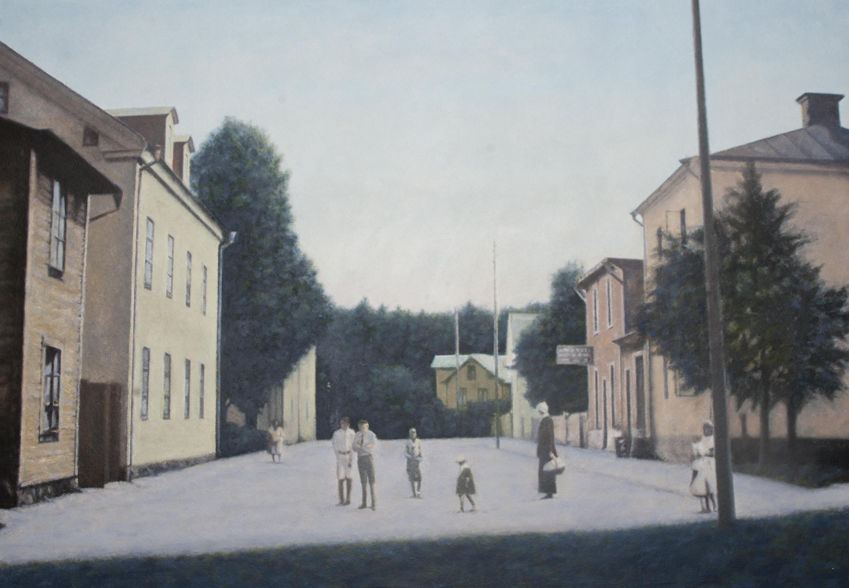 Opphemsgatan (1920-tal) - Klicka för att byta till perspektivbild.