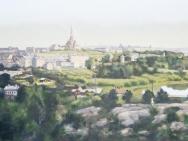 Claes-Åke Schlönzig - Utsikt mot Södermalm och Hammarby sjö 1913