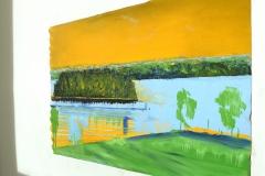 Bertil Almlöf - Vår vid sjön