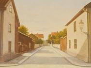 Snickaregatan mot Drottninggatan (sekelskiftet)