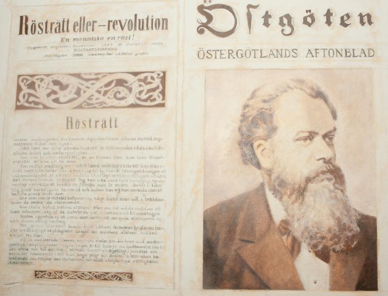 Isodor Kjellberg och Rösträtten