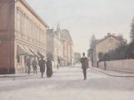 Hörnet S:t Larsgatan - Kungsgatan mot Trädgårdsgatan