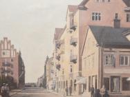 Hörnet S:t Larsgatan - Kungsgatan mot Frimis