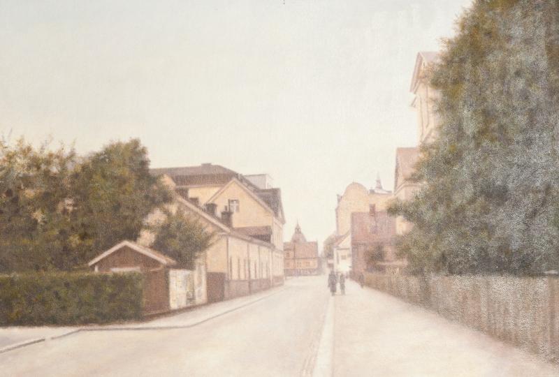 S:t Larsgatan mot Trädgårdstorget (1940)