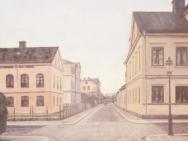 Drottninggatan mot Linnegatan (1900)