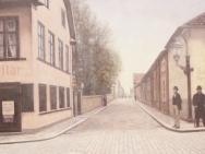 Hörnet Storgatan - S:t Larsgatan (1910-tal)