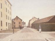 Drottninggatan från S:t Larsgatan (1910-tal)