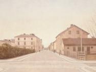 Drottninggatan mot Linnegatan (1910-tal)