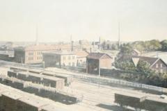 Utsikt över Järnvägsstationen