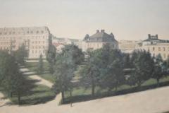 Utsikt över Järnvägsparken (1910)