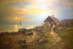 Sigvard Hansen - Vinterlandskap
