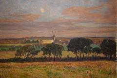 Anton Genberg - Landskap med väderkvarnar