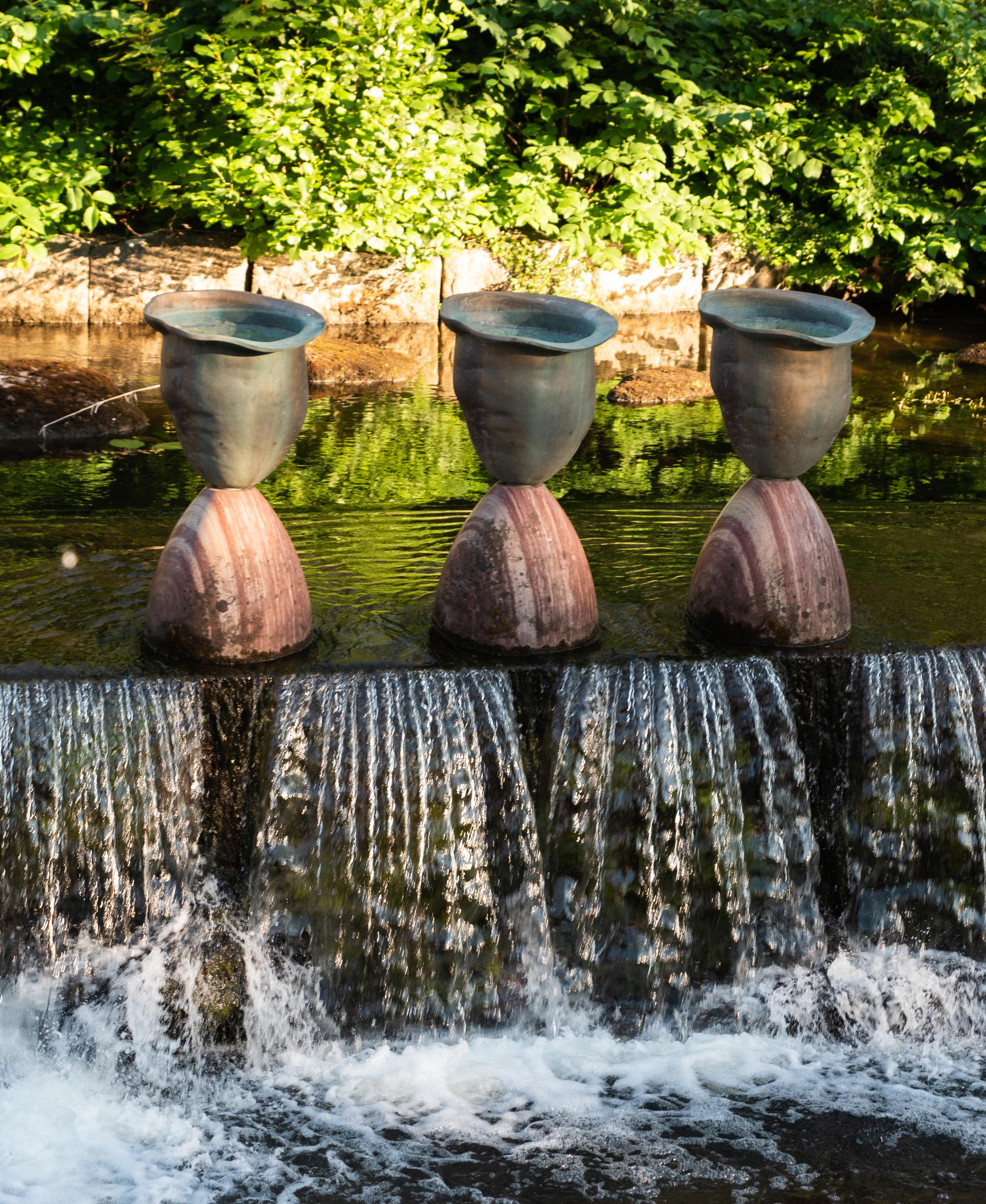Dag Birkeland - Vatten Timglas - Klicka för att byta till perspektivbild.