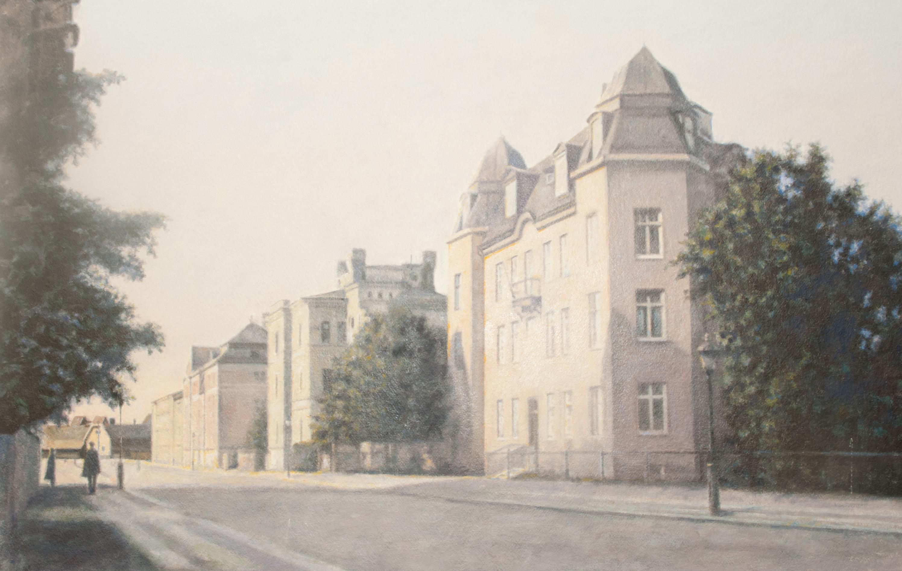 S:t Larsgatan (1910-tal) - Klicka för att byta till perspektivbild.