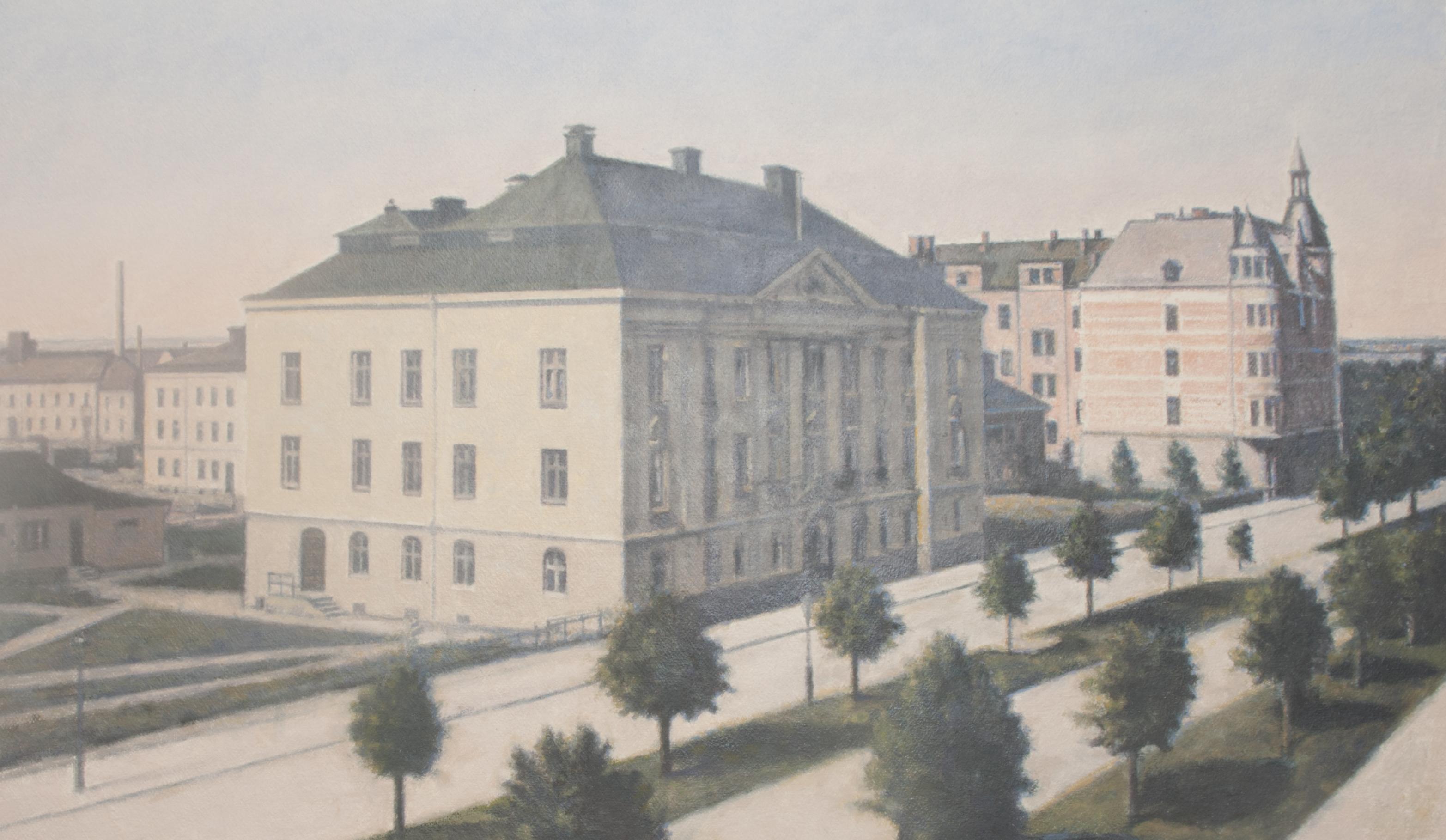 Hypotesbanken Järnvägen (1910-tal) - Klicka för att byta till perspektivbild.